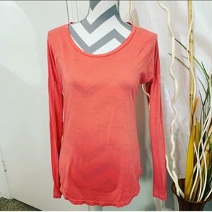 AG jeans Prima Cotton long sleeve tee size Small